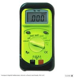 TPI 194 True RMS 50,000 Count Digital Multimeter with CAT IV